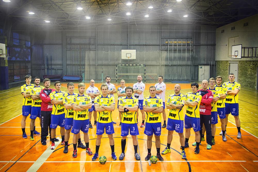 SG LVB Handball Mannschaftsfoto 2014/2015
