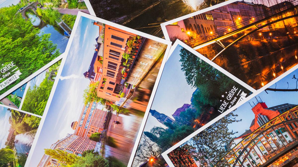 Postkarten Plagwitz Titelbild