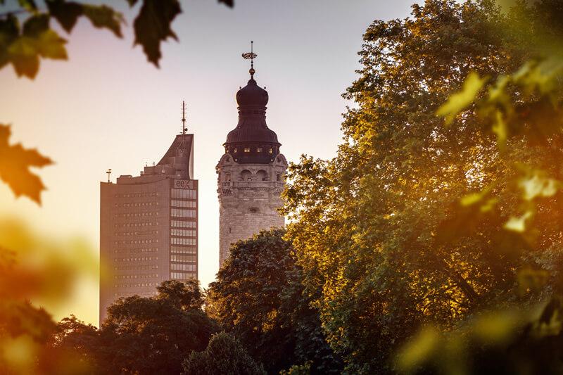 Leipzigs Türme