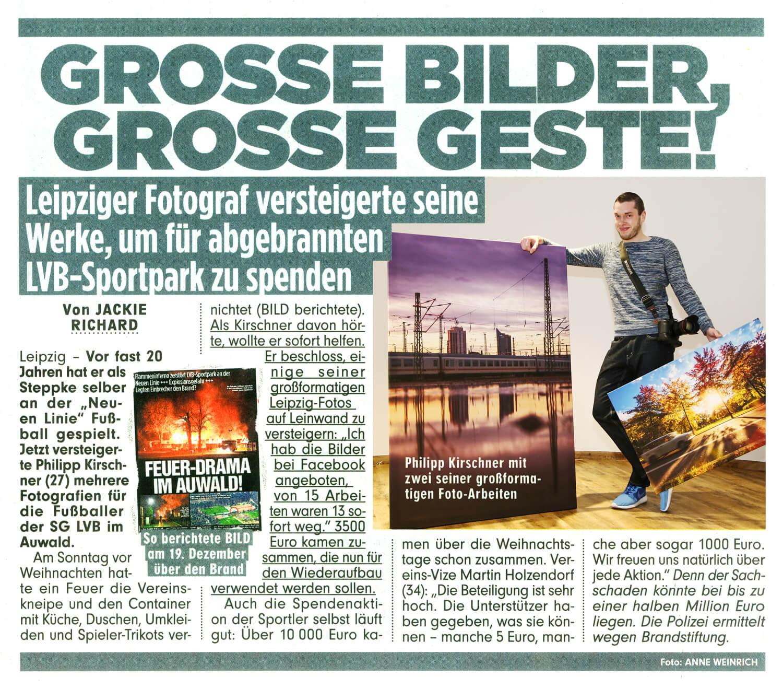 Bild Zeitung Leipzig